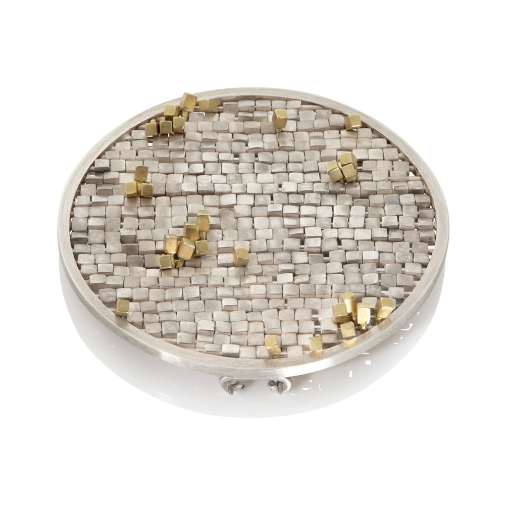 Sequin brooch