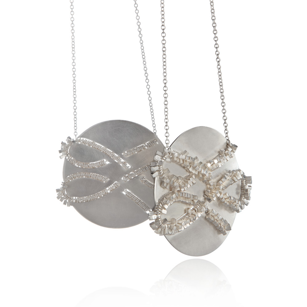 Looped Frilly Pendant